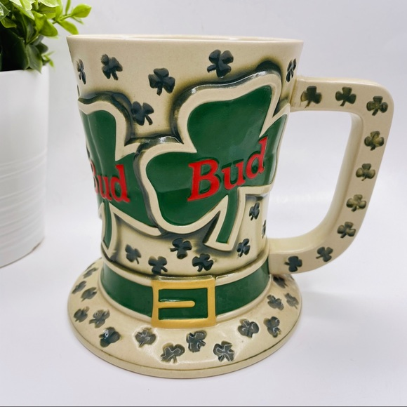 """Bud """"Tip O' the Hat"""" Stein 1995, St. Patrick's Day"""